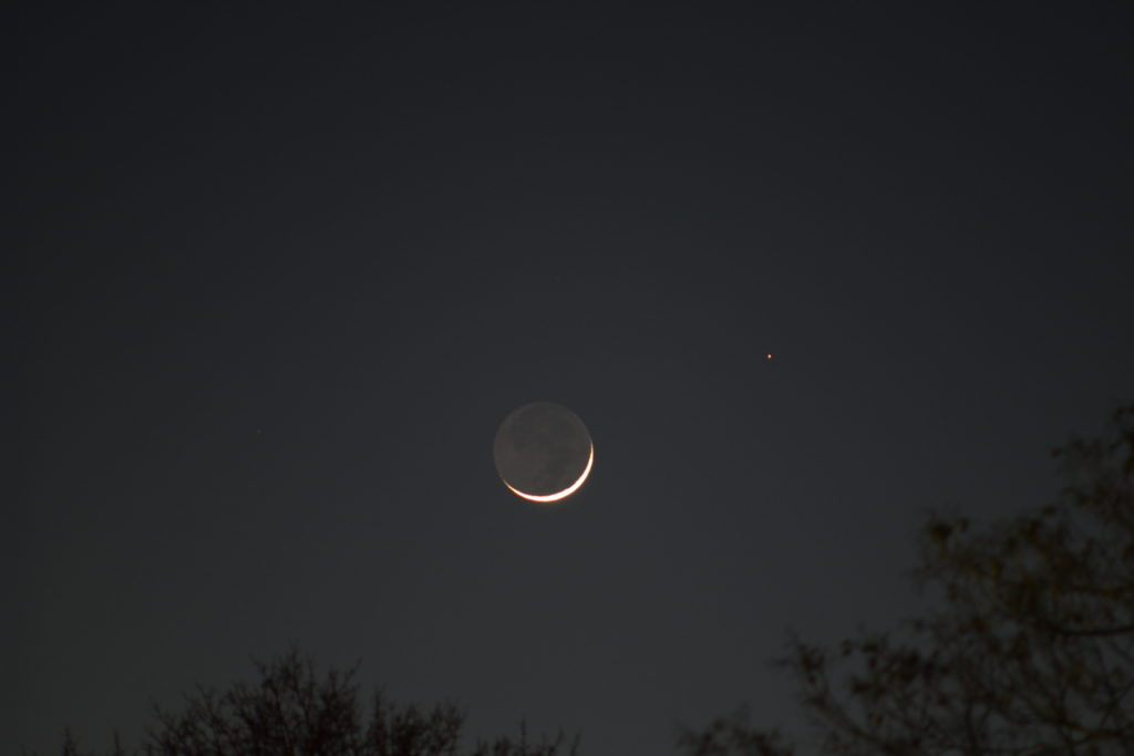 Moon and Mars, March 22nd, 2015 by Ryan Marciniak